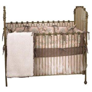 Rutledge 4 Piece Toile Crib Bedding Set