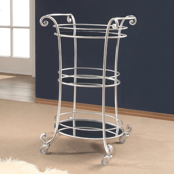 Colworth 3 Tier Bar Cart by House of Hampton