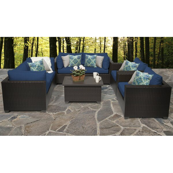 Fernando 7 Piece Sofa Seating Group with Cushions