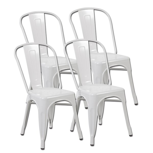Burton Dining Chair (Set of 4) by Ebern Designs