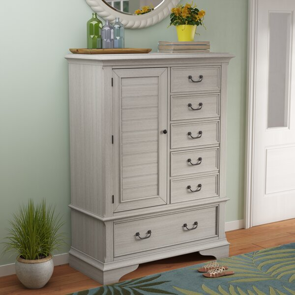 Trenton 6 Drawer Gentleman's Chest by Rosecliff Heights