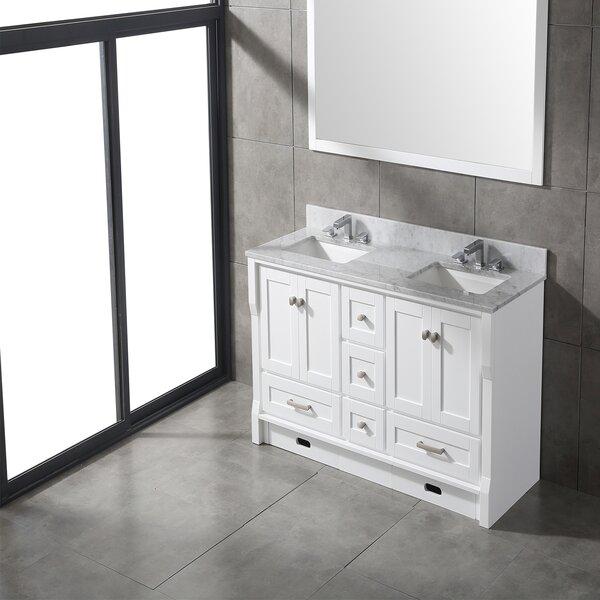 Swatzell 60 Double Bathroom Vanity Set