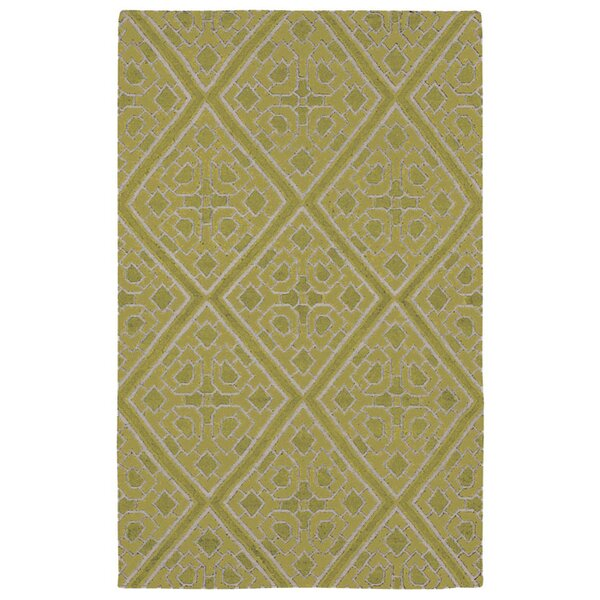 Fremont Hand woven Green Area Rug by Beth Lacefield