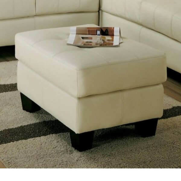 Priolo Lavish  Tufted Standard Ottoman by Charlton Home