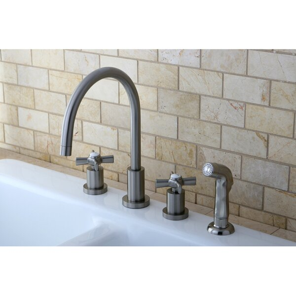 Millennium Widespread Kitchen Faucet by Kingston Brass