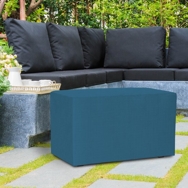 Fenham Upholstered Picnic Bench by Rosecliff Heights