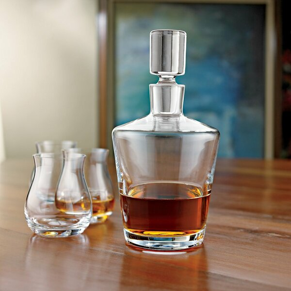 Ambassador Whiskey Decanter by Wine Enthusiast