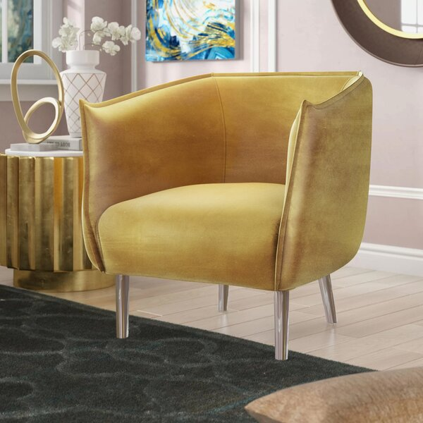 Bentonville Barrel Chair by Greyleigh