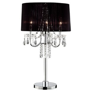 Best Price Crystal Drop 27.5 Table Lamp By ORE Furniture