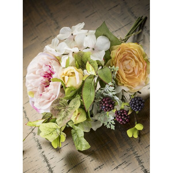 Rose and Hydrangea Bouquet Floral Arrangement by Ophelia & Co.
