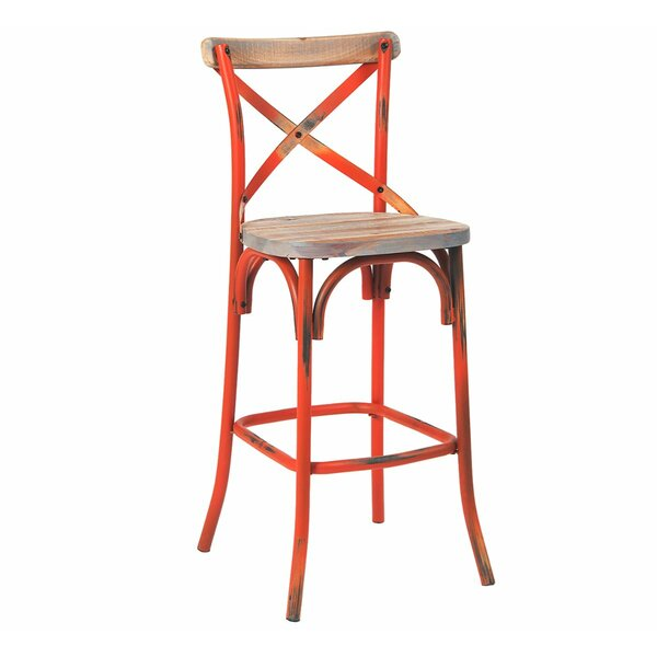 Solid Wood 30'' Bar Stool by ERF Inc. ERF Inc.