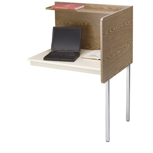 Manufactured Wood 49.5 Study Carrel by Smith Carrel