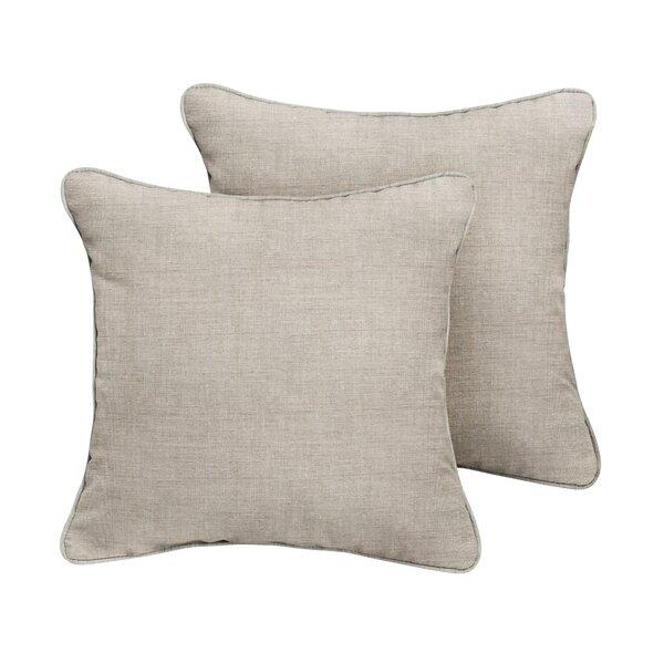 Islington Sunbrella Cast Outdoor Throw Pillow (Set of 2) by Rosecliff Heights