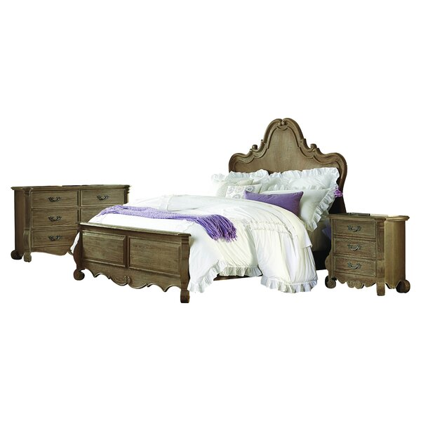 Chrysanthe Panel Configurable Bedroom Set by Homelegance