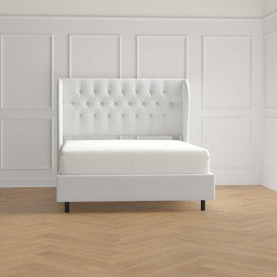 Willa Arlo Interiors Diamond Upholstered Standard Bed Beds