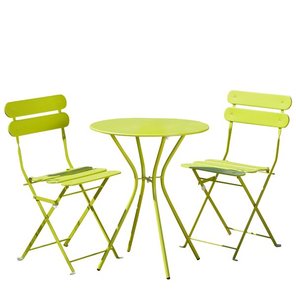Burley 3 Piece Bistro Set by Hashtag Home
