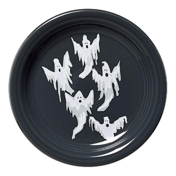 Ghost 6.6 Appetizer Plate by Fiesta