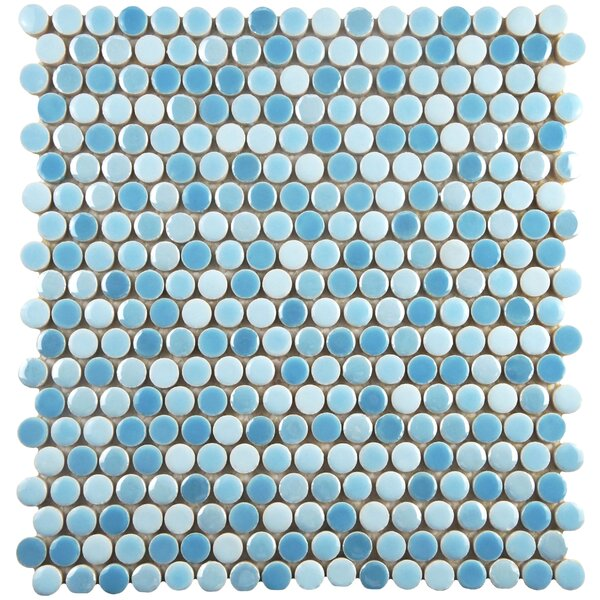 Tucana 0.59 x 0.59 Porcelain Mosaic Tile in Oceano by EliteTile