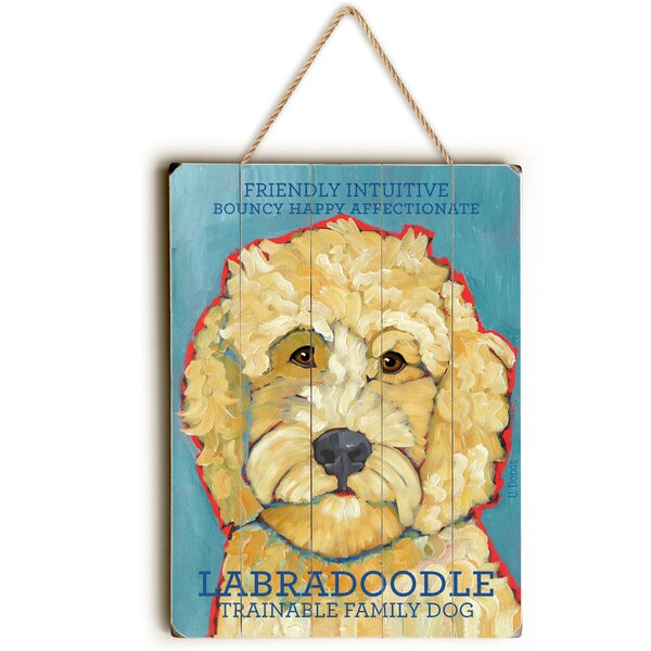 Labradoodle Graphic Art by Red Barrel Studio