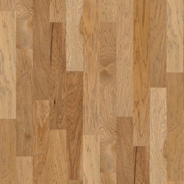 Victorian Hickory 4.8 Engineered Hickory Hardwood Flooring in Allspice by Shaw Floors