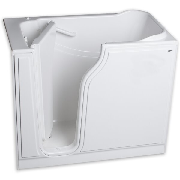 51.5 x 29.75 Gelcoat Left Hand Walk-In Air Spa by American Standard