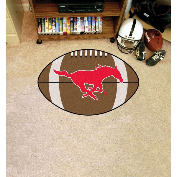 NCAA Southern Methodist University Football Mat by FANMATS