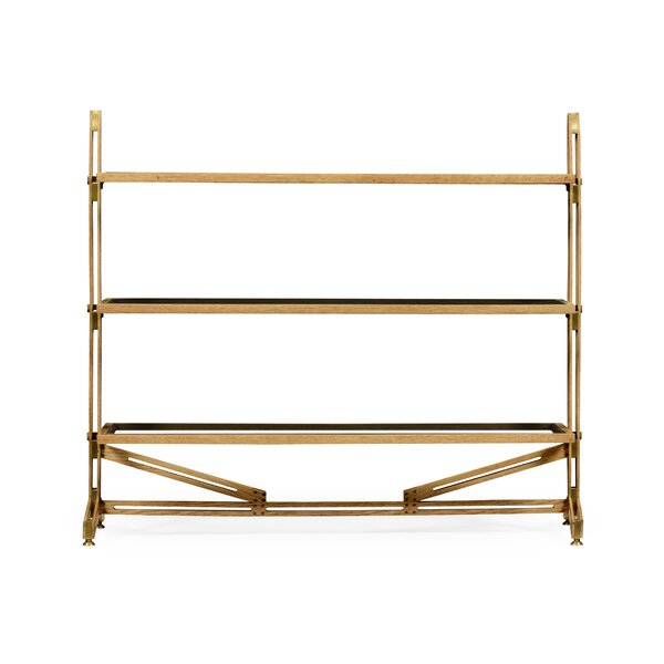 Three Tier Etagere Bookcase by Jonathan Charles Fine Furniture Jonathan Charles Fine Furniture