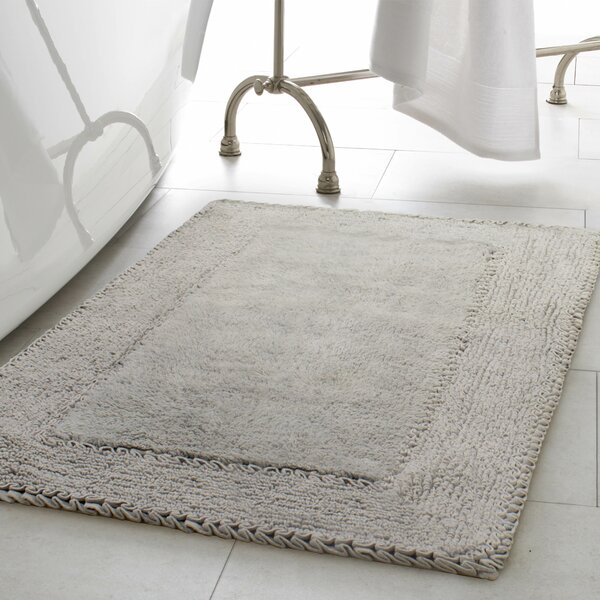 Ruffle Cotton Bath Rug by Laura Ashley Home