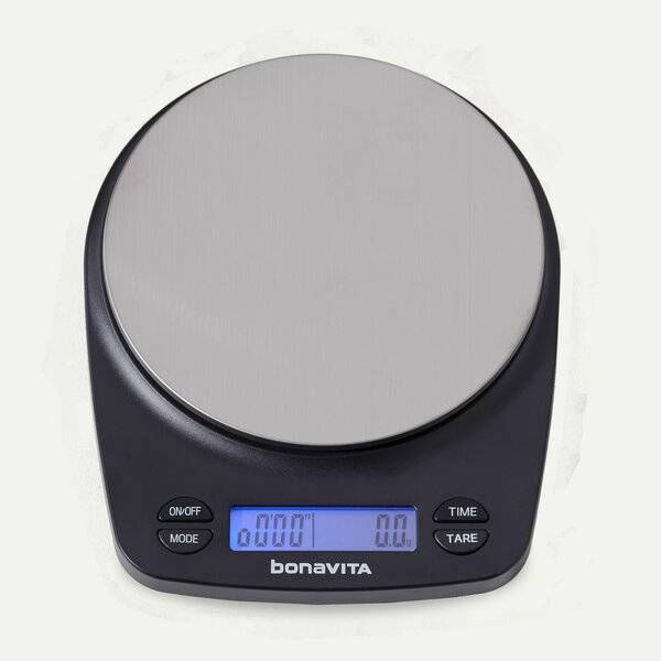 Rechargeable Coffee Digital Kitchen Scale by Bonavita Coffee