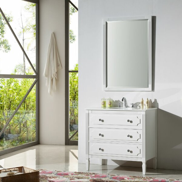 Plattville 36 Bathroom Vanity Set by Three Posts