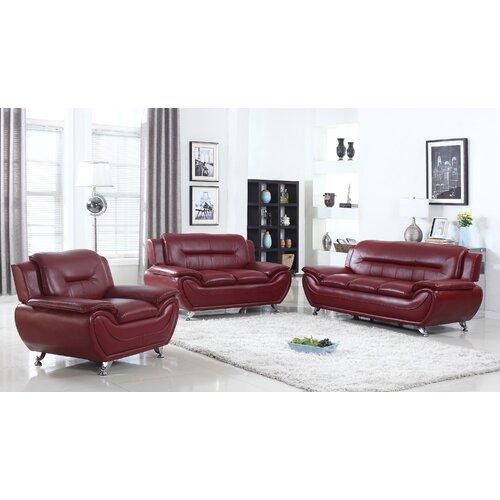 Ebern Designs Brose Modern Configurable Living Room Set Laderd Sudlong