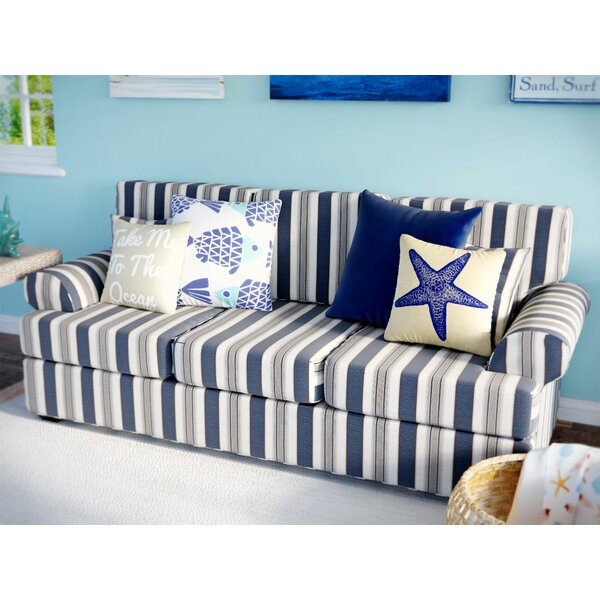Clarence Sofa by Rosecliff Heights