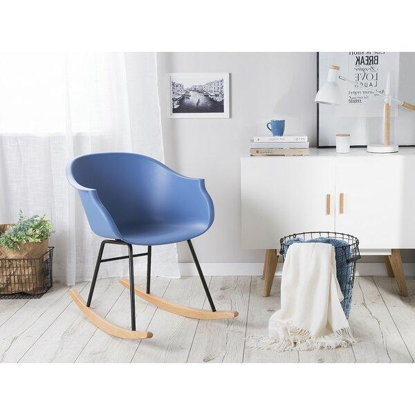Solorzano Rocking Chair by Harriet Bee