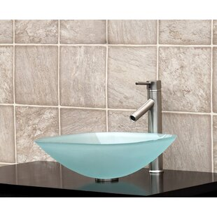 Order Glass Square Vessel Bathroom Sink By Vanitesse