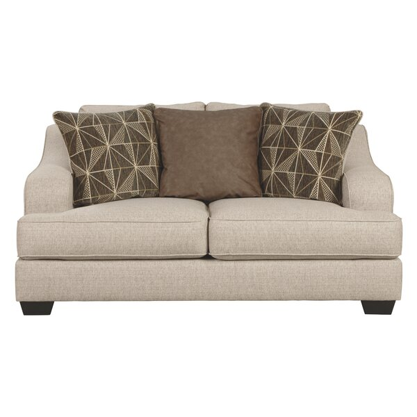 Viergeline Loveseat by Latitude Run