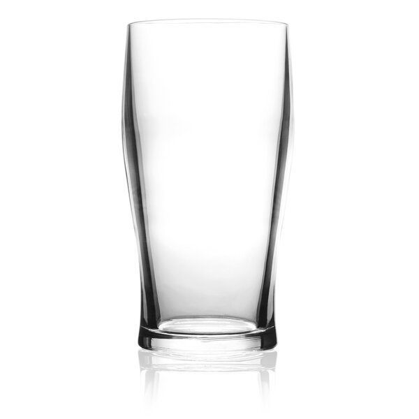 20 oz. Plastic Pint Glass (Set of 4) by symGLASS