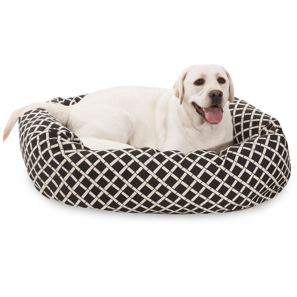 Bamboo Sherpa Bagel Pet Bed by Majestic Pet Products