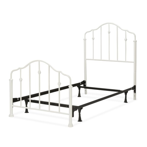 Dandre Metal Panel Bed by Harriet Bee