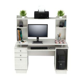Price comparison Santoro Computer Desk with Hutch ByLatitude Run