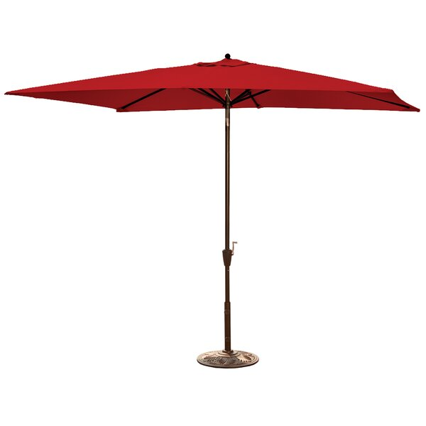 Cece6.5' x 10' Rectangular Market Umbrella by Charlton Home