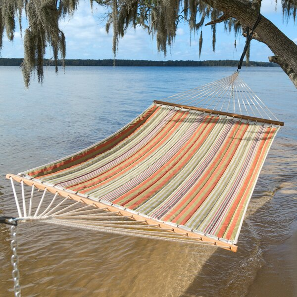 Midway Quilted Double Spreader Bar Hammock by Freeport Park