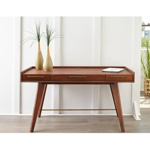 Moffitt Solid Wood Writing Desk