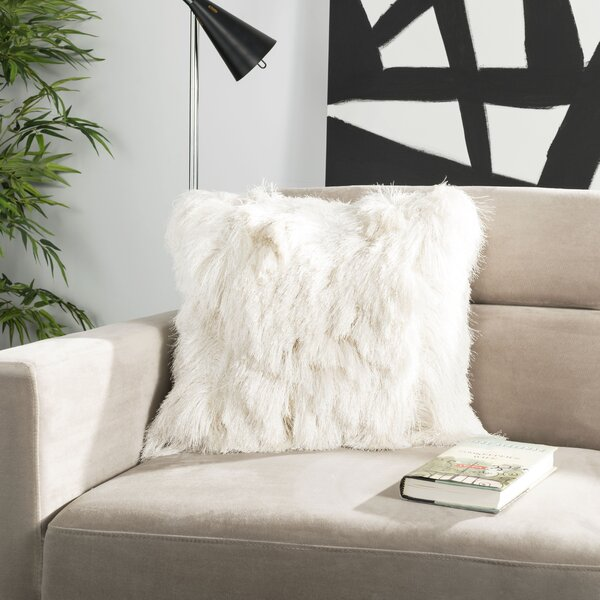 Derick Shag Throw Pillow by House of Hampton