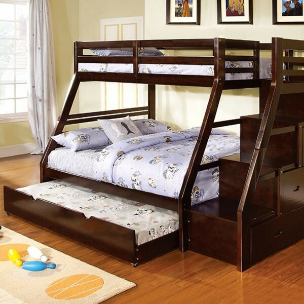 Atascadero Twin over Full Bunk Bed with Trundle by Harriet Bee