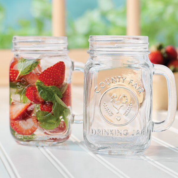 County Fair 16.5 oz. Mason Jar (Set of 12) by Libbey