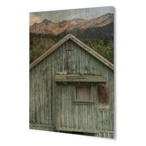 'Rustic Barn' Photographic Print on Plaque by KAVKA DESIGNS