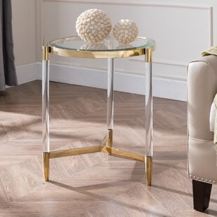Reviews Salmon End Table By Mercer41