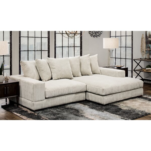 Luxe Right Hand Facing Sectional by Home by Sean & Catherine Lowe Home by Sean & Catherine Lowe