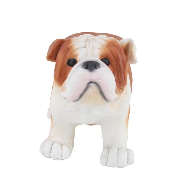 Stickler Modern Dog Polystone Garden Stool by Winston Porter