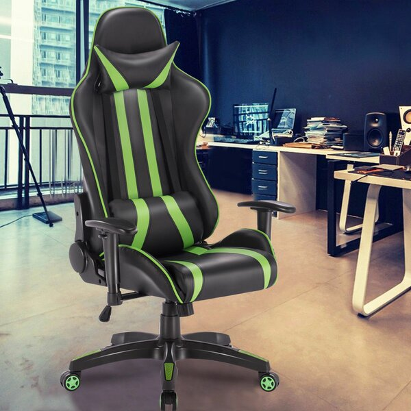 Magnificent Ergonomic Game Chair By Ebern Designs Dailytribune Chair Design For Home Dailytribuneorg